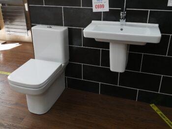 Dama-N Basin WC and Tap